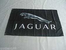 Brand New Flag For Jaguar Car Racing Banner Flags 3ft x 5ft 90cmX150cm Black