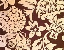 OSCAR DE LA RENTA Lee Jofa Flora Ivory Cocoa Floral India Remnant New