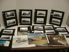 Lot of 97 Vintage Union Pacific Railway Photos
