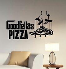 Goodfellas Pizza Decal Vinyl Window Sign Logo Sticker Art Pizzeria Wall Decor p4