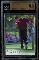 2001 Upper Deck Tiger Woods UD BGS 9.5 Gem Mint #1