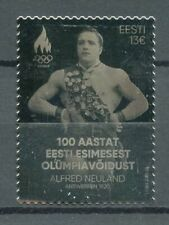 More details for estonia olympics silver stamps 2020 mnh alfred neuland first olympic victory 1v