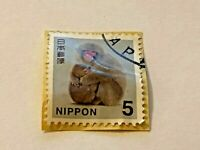 Japan, Used Stamp, NIPPON 5, Stamp For Collectors, #1029-6519