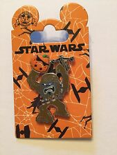 Chewbacca with Pumpkin Star Wars Halloween Pin Disney