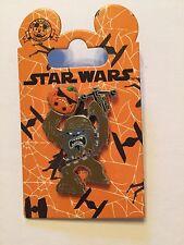 Chewbacca with Pumpkin Star Wars Halloween Pin Disney