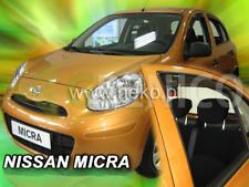 NISSAN MICRA  K 13 5-portes 2010-2016 Deflecteurs de vent 4-pièces HEKO