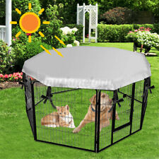 Us Large Dog Crate Cage Cover Waterproof Windproof Cat Pet Home Kennel Sun Shade