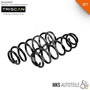 2x TRISCAN Feder, Fahrwerksfeder SET/Satz hinten für BMW