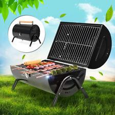 Portable Barrel BBQ Barbecue PRO Grill Caravan Cooker Burner Garden Picnic Party