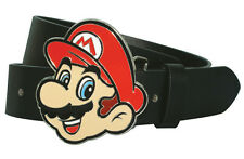 Super Mario cinturón Nintendo Belt with mario Buckle tamaño L (Large) 116cm
