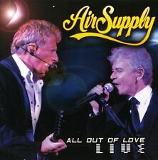 Air Supply - All Out of Love Live [New CD] With DVD