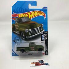 '52 Chevy #201 * GREEN * 2020 Hot Wheels * WF14