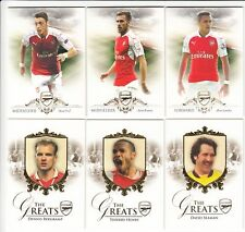 2016 Futera Unique Arsenal Complete Base Set 1-50 (50 Cards & Empty Box)