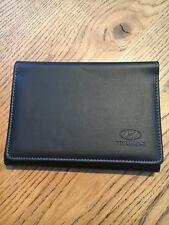 Genuine Hyundai Leather Car Document Handbook Wallet/case OEMPart