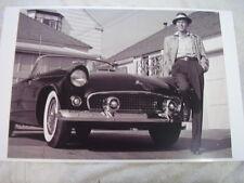 1955 FORD THUNDERBIRD FRANK SINATRA   11 X 17  PHOTO  PICTURE  #2