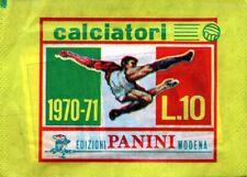 Bustina Calciatori Panini 1970 1971 70 71 Piena perfetta