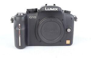 Panasonic LUMIX DMC-G10 12.1MP Digital Camera - Black (Body Only) #J01150
