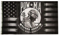 3x5 USA POW MIA Black Grey All Gave Some Some Gave All Flag 3'x5' Banner (EE)