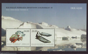 Greenland 2021 MNH - Fish in Greenland IV - m/sheet