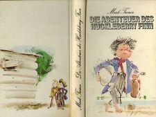 Mark Twain, Die Abenteuer des Huckleberry Finn, ill. Horst Lemke, übers. Borgers