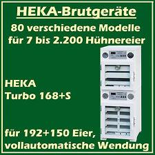 Heka Turbo 168 + S - Incubateur avec séparé Dispositif d'Éclosion, pour 192+150
