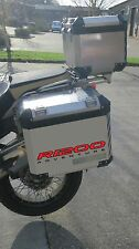 2pt REFLECTIVE PANNIER STICKERS TO FIT BMW R1200GS ADVENTURE GRAPHICS DECALS
