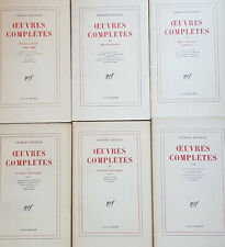 Oeuvres complètes, tomes 1-3-4-5-6-8 Par Georges Bataille
