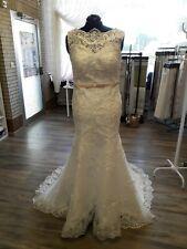 Edles Damen Braut Standesamt Abend  Kleid  GR: 40