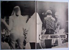 THE MAMAS AND PAPAS 1966 vintage POSTER ADVERT I SAW HER AGAIN mama cass elliot
