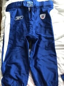 Reebok NFL Team Issued NFC 2010 Pro Bowl Pants Size 34 With Belt Game Authentic