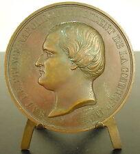 Medaille le prince Napoléon commission impériale de l'exposition de 1855 medal