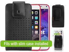 Cellet Teramo Leather Case for Samsung Galaxy Note 3 / 4 / 5 / edge iPhone 7 6+