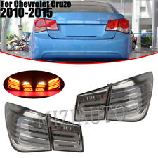 LED Tail Light For Chevrolet Cruze 2010 11 12 2013 2014 2015 Sedan 4Dr Rear 4PC