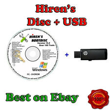 Complete Computer Repair & Recovery Bootable USB 4GB & DVD Windows 7 PC Tools