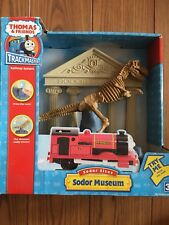 SODOR MUSEUM Thomas & Friends NEW Motorized Train Trackmaster Track Dinosaur NIB