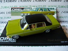 voiture 1/43 IXO eagle moss OPEL collection : ADMIRAL B 1969/1977