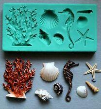 Silicone Mould SEA WORLD Cake Decorating Fondant / fimo mold