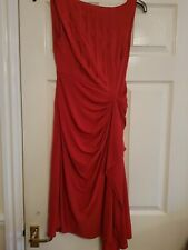 Karen Millen Size 10 Red Dress Worn Once Immaculate