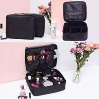 Multifunction Women Travel Cosmetic Makeup Bag Toiletry Organizer Storage Case