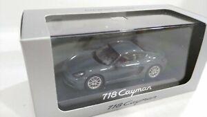 MINICHAMPS Porsche 718 Cayman