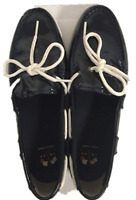 NEW Cole Haan Women's Nantucket Camp Moccasins- SIZE 8 Navy Patent