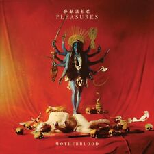 "Grave Pleasures ‎""Motherblood"" Gatefold red opaque vinyl LP + CD & LP Booklet"