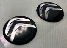 2 pcs. Citroen logo 3D Domed Sticker. 30 mm