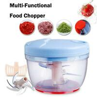 Manual Chopper Food Vegetable Fruits Mincer Blender Slicer Kitchen Tool