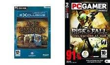 AGE OF EMPIRES COLLECTOR'S EDITION & RISE & FALL Civilizations at War
