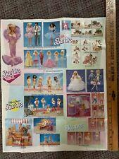 Vintage 1988 Barbie World Of Fashion Brochure