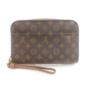 Louis Vuitton LV Clutch Bag Orsay M51790 Browns Monogram 2401622