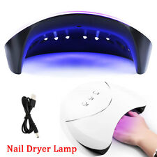Professional 36W LED UV Nail  Dryer Lamp Gel Acrylic Curing Light Spa Kit CA