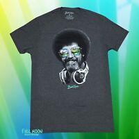 New Bob Ross Hip Men's Happy Trees Retro Vintage T-Shirt