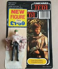 Complete Luke Skywalker (In Battle Poncho) With Card. Kenner LFL 1985 Last 17